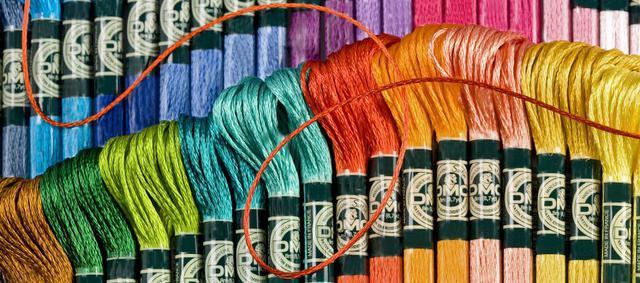 Мулине нитки для вышивания