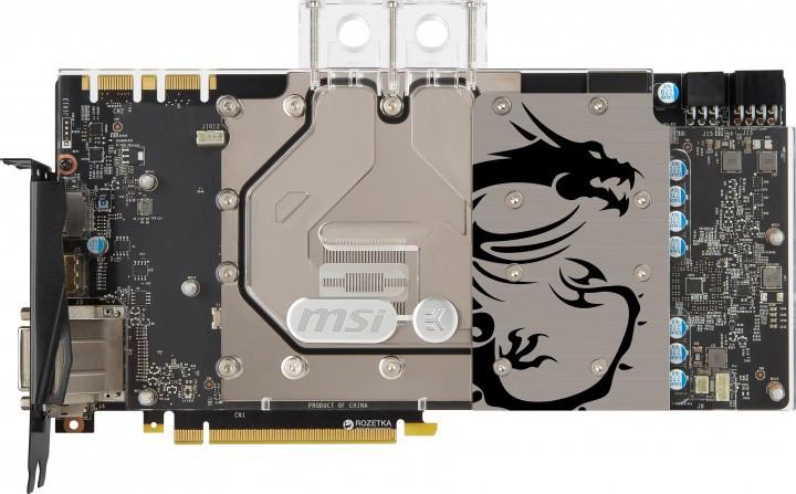 Видеокарта MSI Nvidia Geforce GTX 1080 Sea Hawk EK X 8Gb