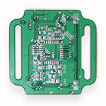 Плата печатная для проекта Часы наручные на микроконтреллере ATMEGA328