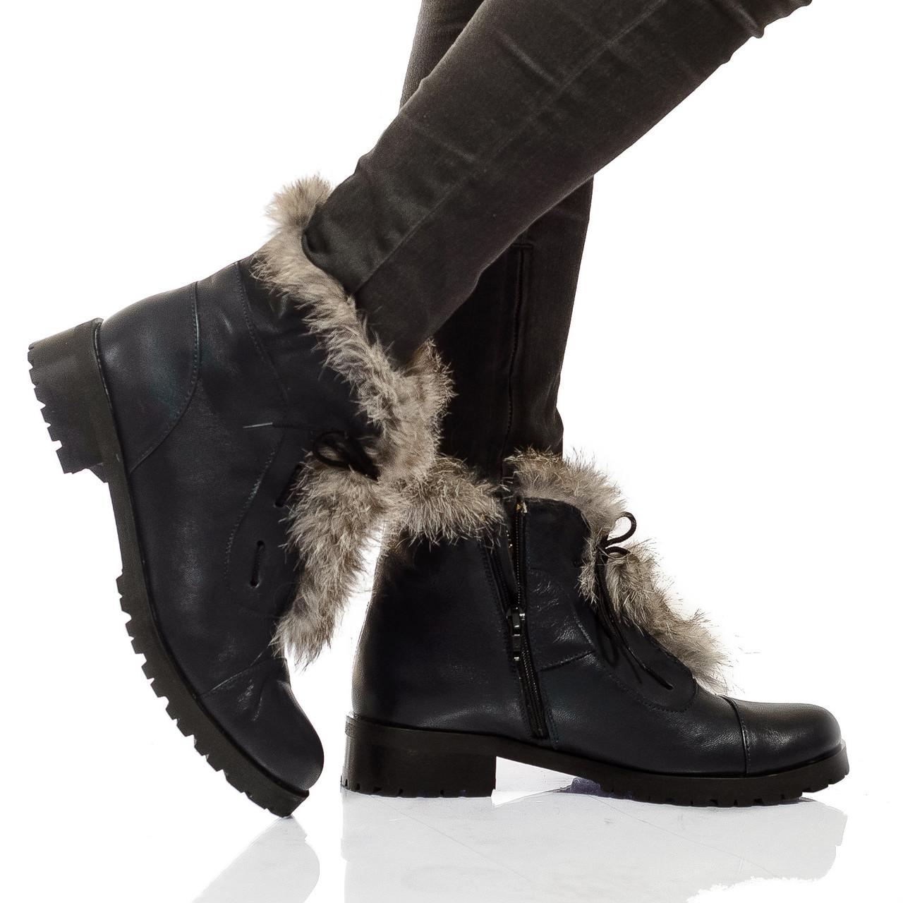 Ботинки на низком каблуке, из натуральной кожи, замша,лак на шнурках. Четыре цвета! Размеры 36-41 модель S2226