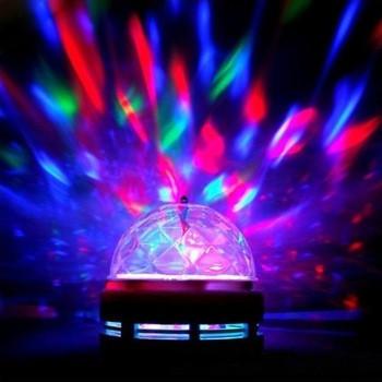 Диско лампа вращающаяся LED lamp для вечеринок - Интернет-магазин VMPTehno в Киеве