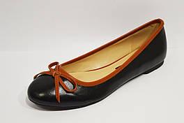 Балетки женские черные Caramello 40 размер