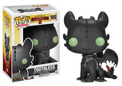 Фигурка Funko Pop Фанко Поп Беззубик Toothless How to Train Your Dragon 2  Как приручить дракона HTTYD Т100