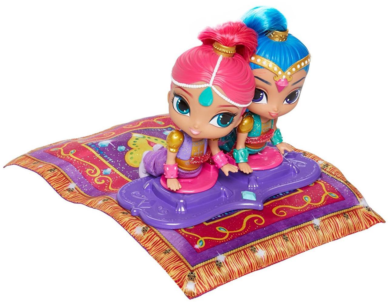 Куклы Шиммер и Шайн на волшебном ковре-самолете