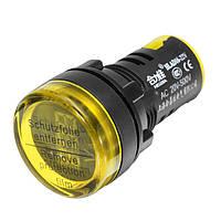 Machifit22ммAC20-500VЖелтый цифровой измеритель напряжения вольтметра измерительный прибор цифровой Дисплей Индикатор
