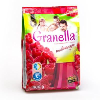 Чай Granella з ароматом малини 400 гр.