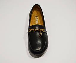 Туфли из экокожи кожи с цепью Allshoes 96167, фото 3