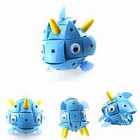 Parcae NS003 90 штук Магнитный Волшебный Шарик Мудрости Синий Рыб Блоки Различные Деформация Головоломка Подарок
