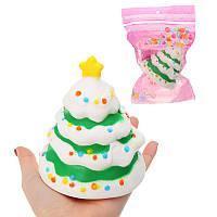 Рождественская елка Фруктовая модель Детская Squishy Коллекция подарков Декор Игрушка Оригинальная упаковка