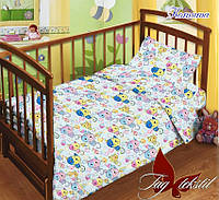 Детский комплект постельного белья в кроватку  Котята