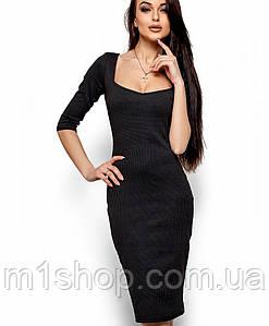 Женское облегающее деловое платье (Хилари kr)
