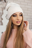 Женская шапка-колпак «Лори» Белый