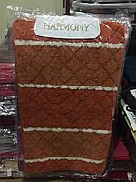 Комплект ковриков в ванную комнату и туалет Гармония100х60