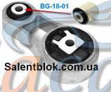 Сайлентблок подушки двигателя Renault Trafic/Opel Vivaro 1.9dCi 01-, код BG1801, Belgum
