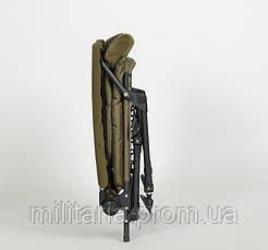 Карповое кресло Elektrostatyk с подлокотниками (нагрузка до 120 кг) (FK7), фото 3