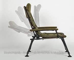 Карповое кресло Elektrostatyk с подлокотниками (нагрузка до 120 кг) (FK7), фото 2