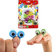 Большие глазные пальцы Куклы Пластиковые кольца с волнистыми глазами Партийные предпочтения Ассортимент цветов Pinata Fillers
