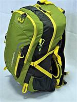 Средний туристический треккинговый рюкзак LEADHAKE DG-436 зеленый b1a27fb08408b