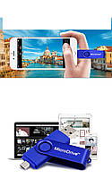 Двуразъемная флешка MicroDrive OTG 16 GB, фото 1