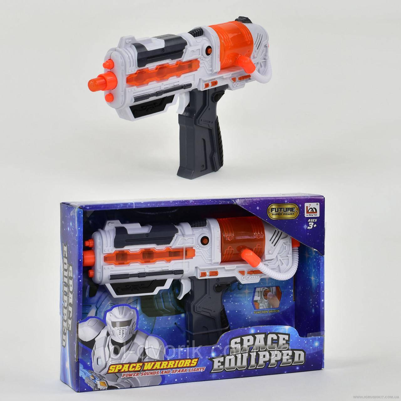 Пістолет LM 666-16 (72) музичний, в коробці Пістолет LM 666-16 (72) музичний, в коробці Довжина: 26 см Ши