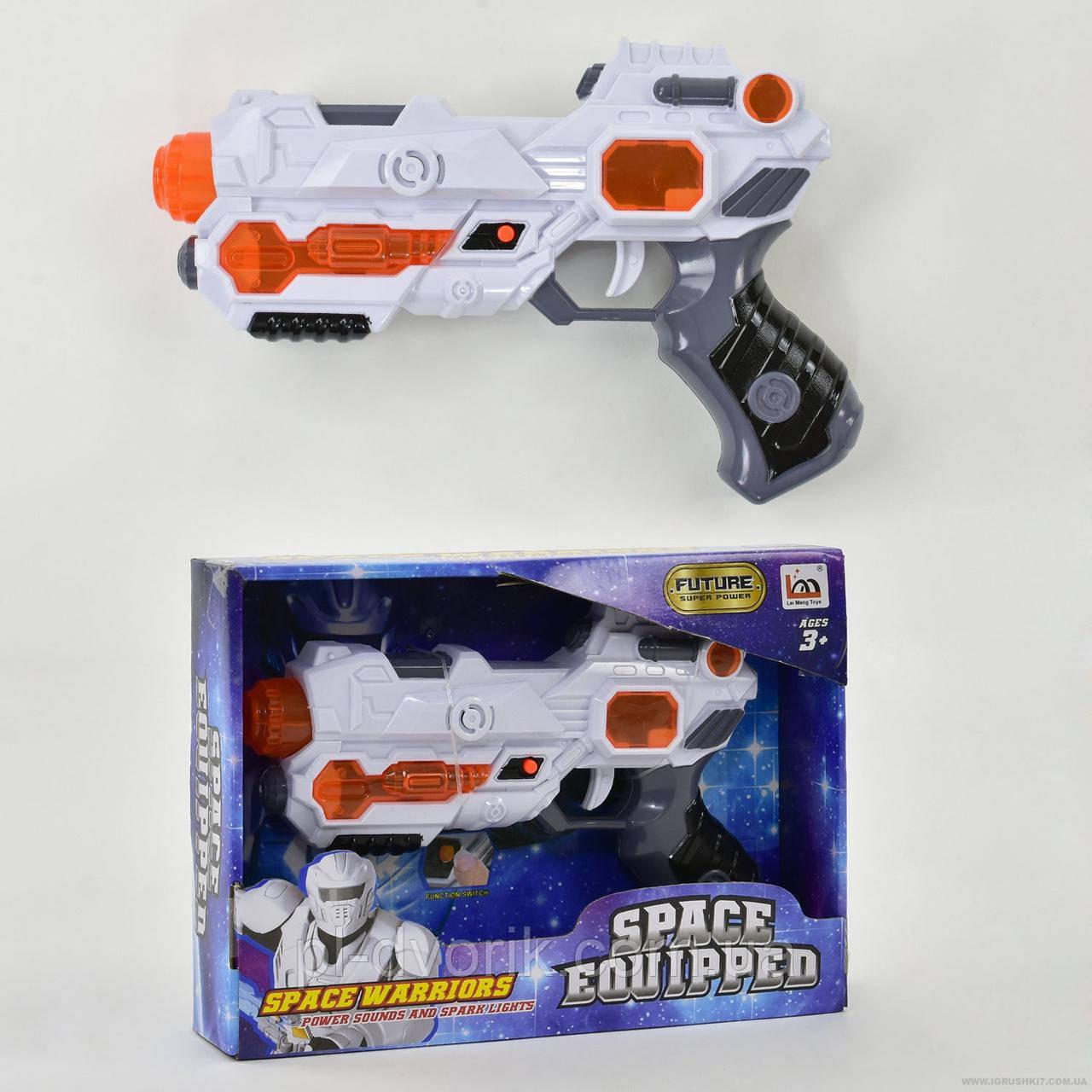 Пістолет LM 666-2 (60) музичний, в коробці Довжина: 28 см Ширина: 6 см Висота: 20 см Упаковка: Коробка Вообра
