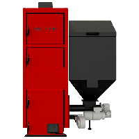 Пелетний котел Альтеп Duo Pellet N 27 кВт, фото 1