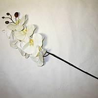 Искусственные цветы Орхидея фаленопсис силиконовая (75 см)(3 шт)