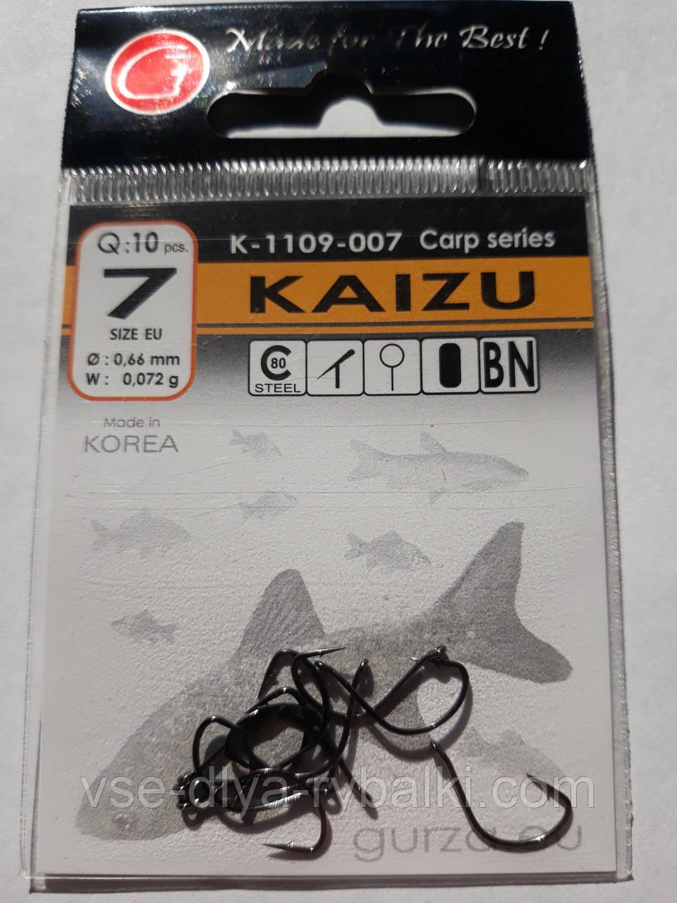 Крючки Gurza kaizu № 7