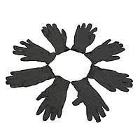 100 штук S/M/L Черный Латекс Одноразовый Перчатки Тату Механизм пирсинга Медицинская Перчатки