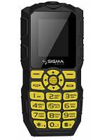 Sigma mobile X-treme IO68 Bobber Black/Yellow