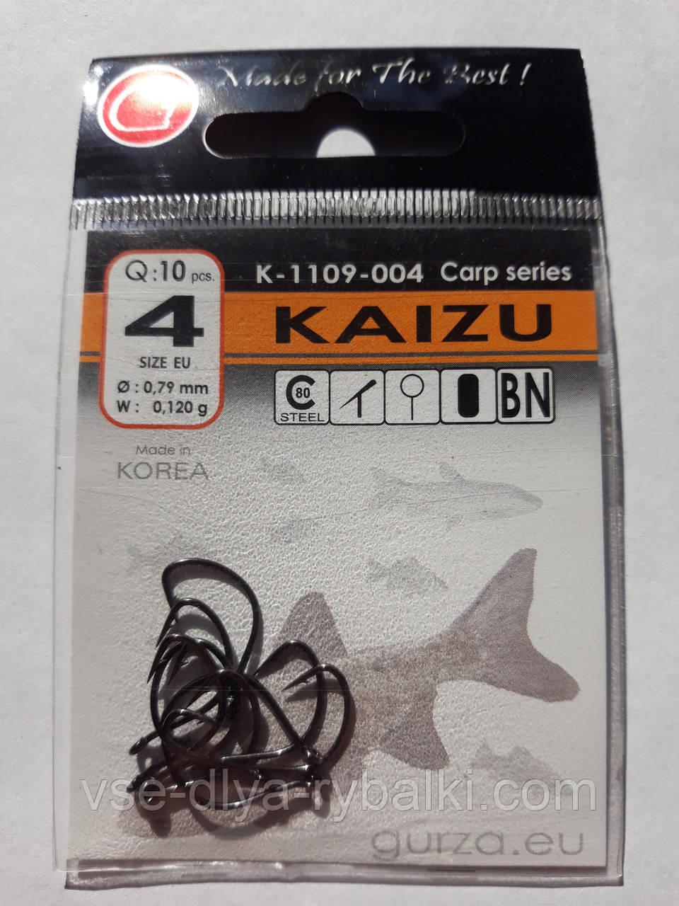 Крючки Gurza kaizu № 4