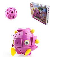 Parcae NS004 90 штук Магнитный Волшебный Шарик Мудрости Черный Розовый Свинья Блоки Различные Деформационный Подарок