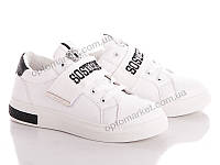 Кроссовки женские Diana 6601 white-black