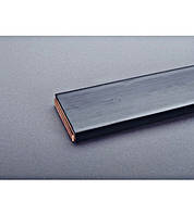 Гибкая шина медная, 10x80x1, изолированная,1775A, 2м