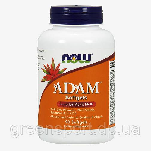 Мультивитамины для мужчин Now Foods ADAM (90 софтгель)