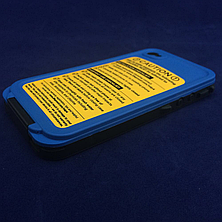 Чехол защитный LifeProof iPhone 4/4S blue, фото 3