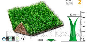 Искусственная трава для  футбольного поля  - 50мм.Тurf Grass Испания, фото 2