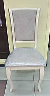 Деревянный обеденный стул Джил, цвет айвори