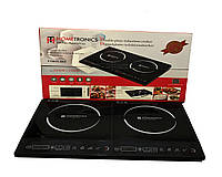 Плита индукционная, двойная индукционная плита HomeTronics от Royalty Line RL 2000Вт+2000Вт