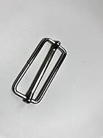 Перетяжка металлическая 4 см никель (1000шт)