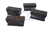 Комплект подушек рессоры передней MB Sprinter 96- (пластик), код 201051, SOLGY