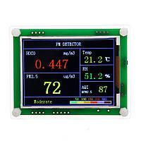 PM2.5 Детекторный модуль Пыль воздуха воздуха Датчик TFT LCD Дисплей Монитор На главную Авто