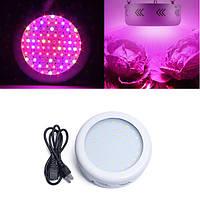 40W Full Spectrum UFO 50 LED Растение Светлая крытая гидропоника растет Лампа для овощных цветов AC85-265V