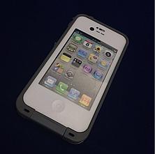 Чехол защитный LifeProof iPhone 4/4S white, фото 3