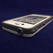 Чехол защитный LifeProof iPhone 4/4S white, фото 2