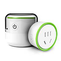 Mini WiFi Smart Plug Outlet Разъем Wireless Дистанционный Контроллер питания для подключения к сети переменного тока Разъем