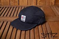 Модный снепбек кепка пятипанельная реперка топ рибок Reebok Classic темно синяя реплика, фото 1