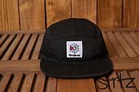 Модный снепбек кепка пятипанельная реперка топ рибок Reebok Classic черная реплика