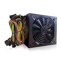 Профессиональный 1800W Mining ATX Блок питания Miner Mining Machine SATA IDE для 6 GPU ETH BTC Ethereum