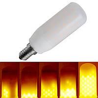 E12 3W Три режима 1400-1600K 270LM Теплый белый LED Пламенная лампа для фонаря AC85-265V